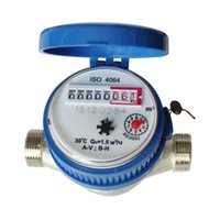 Wholesale High Quality Waterproof mm quot Cold Water Meter For Garden and Home With Free Fittings NVIE