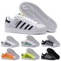 basketball white boards - 2016 New KPU Superstar Marble Men s Women s Summer Superstar Hologram Iridescent Sneakers Black White skate board Sport Shoes Size