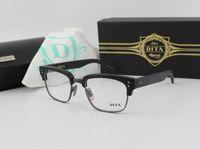 Wholesale Eyeglasses Frame New Optical Glasses Frame For Men Designer Clear Lens Half Frame Oculos Dita Statesman