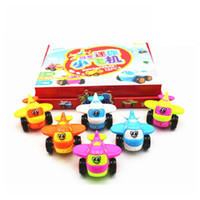 Wholesale Hot Sale Inertial Mini Plane Helicopter Model Airplane ABS Baby Toys Kids Toys Cartoon Educational Toy Children s Day Gifts