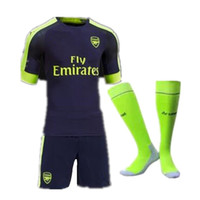 Wholesale Top Quality jerseys kit socks Away home RD goalkeeper Jersey WILSHERE OZIL WALCOTT RAMSEY ALEXIS shirt