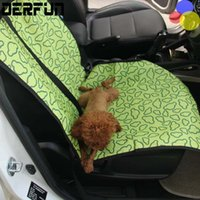 Wholesale Pet Car In Front Of The Single Seat Waterproof Dog Car Pet Car MATS MultiColor Optional dog cat seat covers