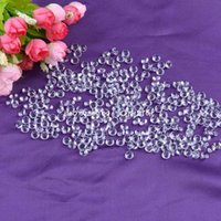 Wholesale LS029 mm Clear Crystal Loose Diamond Glass Rhinestones Confetti Wedding Venue Table Decoration Ornaments