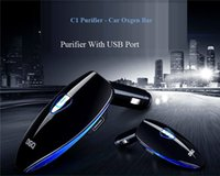 automatic electric car - 2016 Car Air Purifier With USB Car Charger electric car air purifier automatic air freshener for clearance of formaldehyde