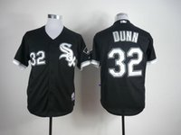 adam dunn - Chicago White Sox Mens Jerseys Adam Dunn Black Baseball Jersey Accept Retail And Mixed Orders