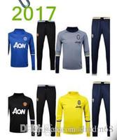 Wholesale 17High quality men s soccer training suit sportswear training Neymar Messi EnglishSportswear