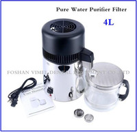 Wholesale 4L Dental Portable electric pure dental water distiller Distilled water machine with Stainless steel blind cover pc seal ring
