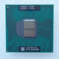 Wholesale Core Duo T2400 GHz MB MHz SL8VQ PGA478 Socket M Mobile CPU Laptop Processor Tested ok