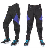 Wholesale Rip Stop Windproof Riding Pants for Men Hard Wearing Removeable Breathable Zipper Fly Male Racing Pants