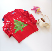 Wholesale 2016 Kids Baby Clothing Cardigan Sweater Colors Cute Cat Pattern Cotton Crochet Knit Pullover Children Autumn Winter Coat