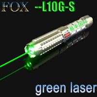Wholesale high power green laser pointer adjustable burning match camping signal lamp high power laser pen range m