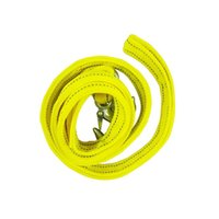 Wholesale Ft lbs Strong Car SUV Trailer Rope Auto Car Tow Fluorescent reflective Rope with Hooks for Car Emergency Duty m t