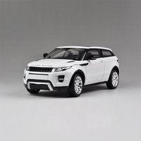 Wholesale Welly Range Rover Aurora Diecast Model Cars Collection Toy Birthday Gift Educational Toys Kids Gift Toy