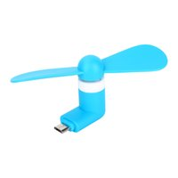 Wholesale 2016 New Gadget Mini Portable Micro USB Fans For Samsung HTC Sony Universal Android Phone GSCP0455