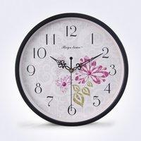 aluminium wall clock - decorative design aluminium wall clock sweep clock movement wall clock