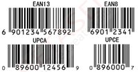 Wholesale Barcode Lables Print Barcode EAN UPC code Lables Serial number Lables Custom materials of various sizes PET Paper Boxs