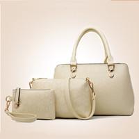 Wholesale new handbag Europe three cap mother bag leisure all match single shoulder bag
