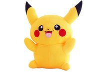 Wholesale EMS Free Poke Plush Toys Hot CM inch Pikachu Plush Stuffed Toys For Kids Gifts ELT048