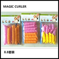 Wholesale DHL Free Amazing Magic Leverag Hair Curlers Curlformers Hair Roller Hair Styling cm cm long Rollers Tools