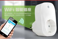 Wholesale Broadlink Sp3 SP CC A Timer EU US wifi socket plug outlet Smart Home Automation App Controls for iphone ipad Android