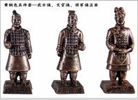Wholesale The Terra Cotta Warriors in xian crafts souvenir furnishing articles China s wind