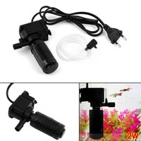 Wholesale Mini in Aquarium Internal Filter Fish Tank Submersible Pump Spray EU