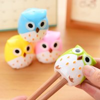 Wholesale Three year two class South Korea stationery pencil sharpener adorable cute owl pencil sharpener pencil sharpener
