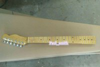 Wholesale Custom shop F logo TL electrical guitar neck super high quality with gold metal part headcase