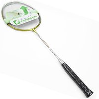 Wholesale FANGCAN A911 Brand High Quality Graphite One piece Defensive Ultralight Prestrung LBS Badminton Racket with U Weight