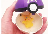 Wholesale toys Poke Pokémon go plastic poke ball Greate ball Ultra ball Master ball style with doll cm Pikachu