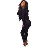 best slimming tights - New Best Selling Tight Sexy Club Women Jumpsuits Low cut Full Sleeve Long Pants Slim Simple Elegant Female Jumpsuit QL1882
