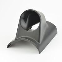 Wholesale 52mm Hole Left Hand Drive Auto Car A Pillar Black Triple Gauge Holder Gauge Pods Auto Car Meter
