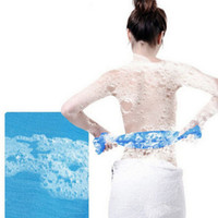 Wholesale 100 Nylon Exfoliating Beauty Skin Bath Shower Wash Cloth Towel Back Towel Scrub Colors
