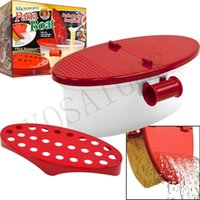 Wholesale Addies Kitchen Microwave Oven Pasta Maker And Food Steamer With Built In Collander And Rinse Basket