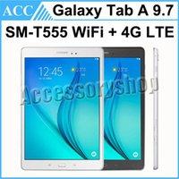 Wholesale Refurbished Original Samsung Galaxy Tab A SM T555 T555 inch Wifi G LTE GB MP Camera Unlocked Tablet PC