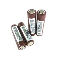 battery mah rating - 3000 mah battery HG2 HE2 Li on Battery cell High rechargeable Rate E cig Battery lithium Cells High drain