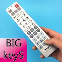 big button remote - Combinational Universal learning Remote Control controller Chunghop L309 For TV SAT DVD CBL DVB T AUX BIG key Large buttons