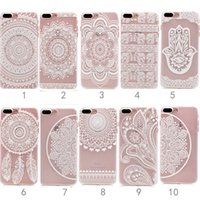 apple elephant - Apple Iphone5 Plus Flower Elephant Mandala Pattern Hard Back Case for Iphone Smart Case