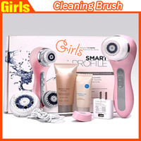 Wholesale New Package Smart Profile Facial Cleanser Brush Rechargeable Facial Cleanser Brushes VS Nuface mini Cleaning brush Selling fast