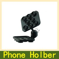 automotive degrees - Hot Degree Universal Multi Phone Holder Chuck Phone Holder For Tablet Gm Automotive Desktop Duplex Gear Double Suction Cup Holder
