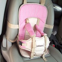 Wholesale Comfortable Children Car Seat with point Harness Safety Belt Popular Portable Baby Safety Car Seat for month Years Old