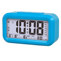 antique chime clock - Manufacturers selling LCD screen music electronic small alarm clock chimes students old children