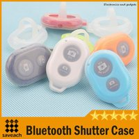 Wholesale New Arrival Bluetooth shutter silicone case Ultrasonic shutter Universal Remote Shutter silicone case for Bluetooth APP shutter