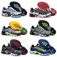 Wholesale New Arrival Max TN Men Running Shoes Cheap Original High Quality Air Maxes TN Runs Kids Shoes Size