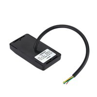 Wholesale good quallity black Khz rfid card reader for house security or access control system