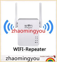 Wholesale New Wireless Wifi Repeater USB Charge Mbps Mini Repetidor Wifi Signal Amplifier G Wifi Extender dBi Antenna b g n