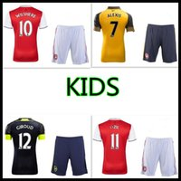 arsenal kids football kit - Arsenal kids Jerseys kit WILSHERE OZIL WALCOTT RAMSEY ALEXIS home Away rd Top Thai kids Football shirts