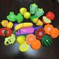 Wholesale 2016 Batidoras Kitchenaid Mixer set Plastic Kitchen Toys Play Food Fruit Vegetable Cutting Kids Pretend Educational Toy And Dress up