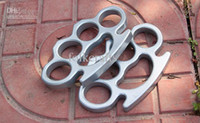 Wholesale Brand New steel Brass knuckle dusters Self Defense Personal KNUCKLE DUSTERS handcuffs