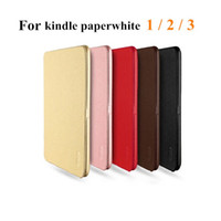 amazon fit - Amazon Kindle Paperwhite LENUO Soft Leather Case Folio Protective Shell for Amazon Kindle Paperwhite Ebook Reader